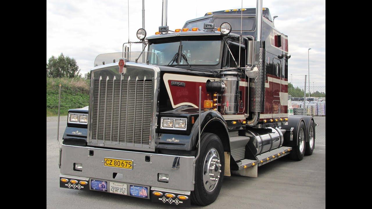 44 US Trucks departs from Lillehamer  YouTube
