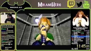 [Speedrun] Zelda: Ocarina of Time No Wrong Warp in 54:36 (current PB)