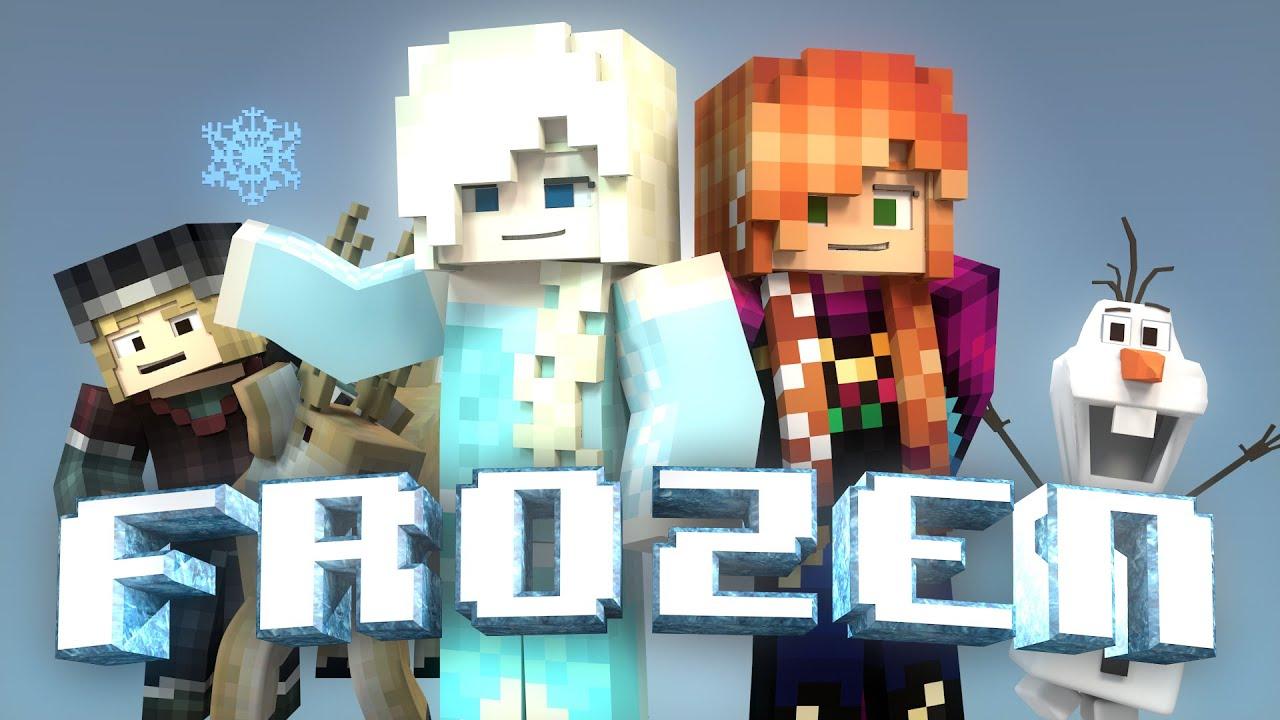 Minecraft Parody - FROZEN! - (Minecraft Animation) - YouTube