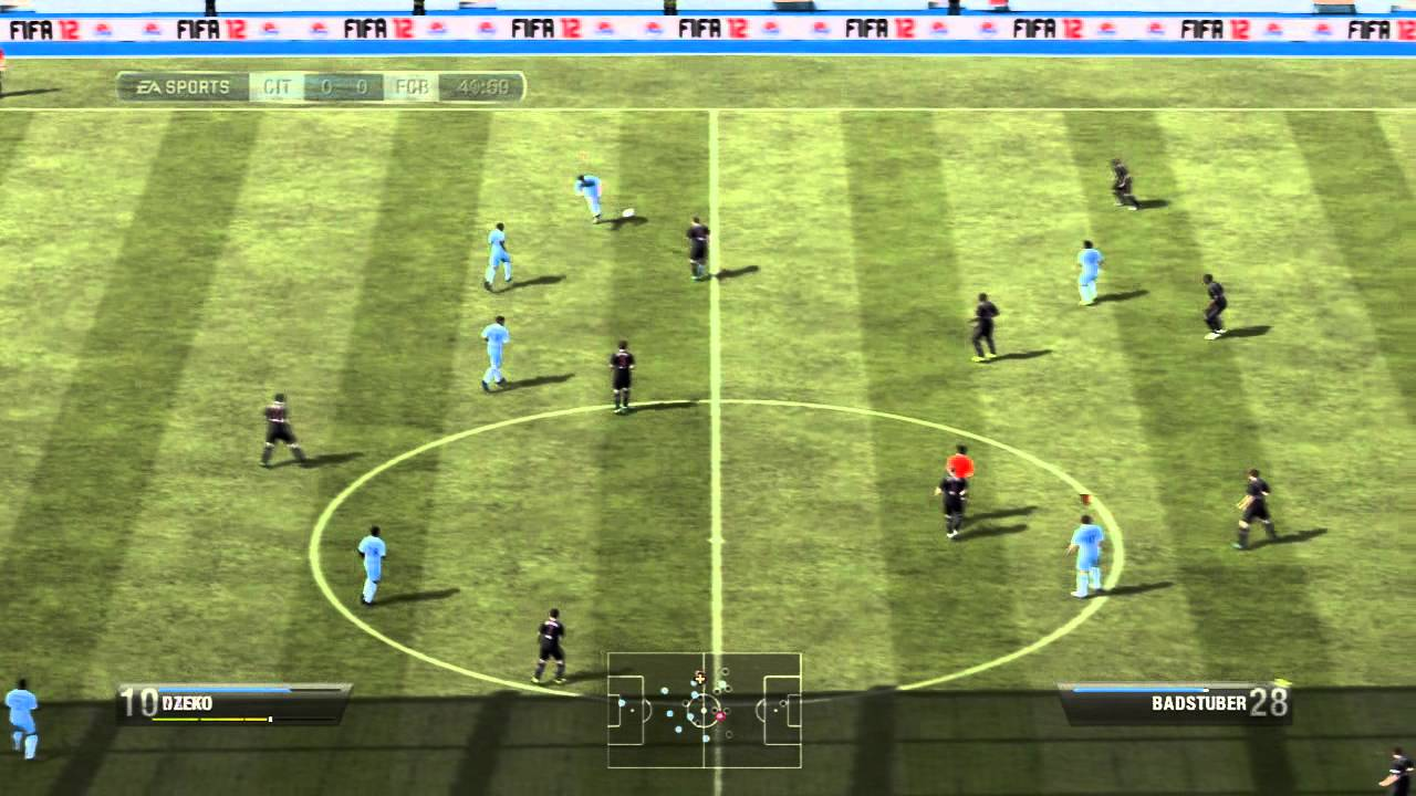 fifa12 live 39 39 1 er jeu de foot 39 39 youtube. Black Bedroom Furniture Sets. Home Design Ideas