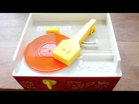 70s Fisher Price toy record player playing Stairway to Heaven