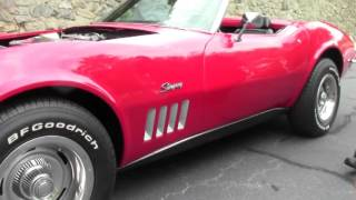 1969 Corvette Convertible 69K Miles