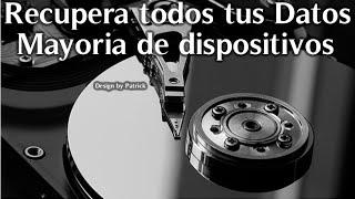 ★ RECUPERAR ARCHIVOS BORRADOS O FORMATEADOS | DISCO DURO | MOVIL | USB | MICROSD | TARJETA MEMORIA