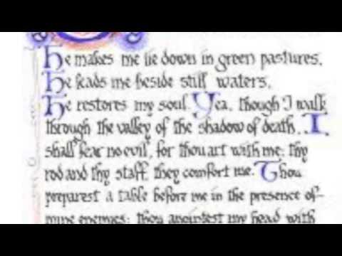 Psalm 23 Afrikaans