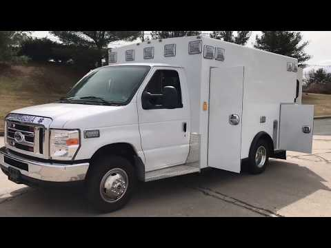 Repeat 2013 Freightliner Braun Super Chief Ambulance Fie