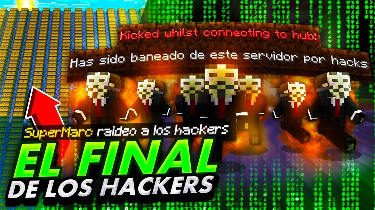 Download RAIDEO la BASE SECRETA de un HACKER y lo BANEO 👨💻 | TROLLEOS EN MINECRAFT #25