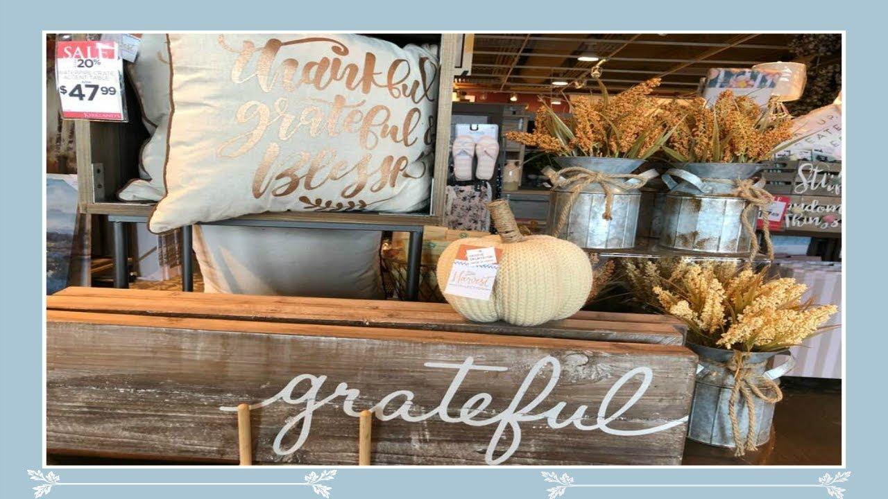 Shop With Me At Kirkland's! Fall/Autumn Home Decor 2018 ... on Kirkland's Decor Home Accents id=13608
