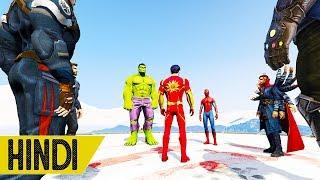 AVENGERS SUPERHEROES VS SHAKTIMAAN | GTA 5