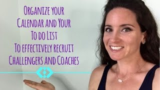 How to Organize Your Posting Schedule and To Do list for your Beachbody Biz