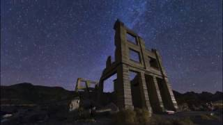 Death Valley Night Sky Timelapse ~ 4K