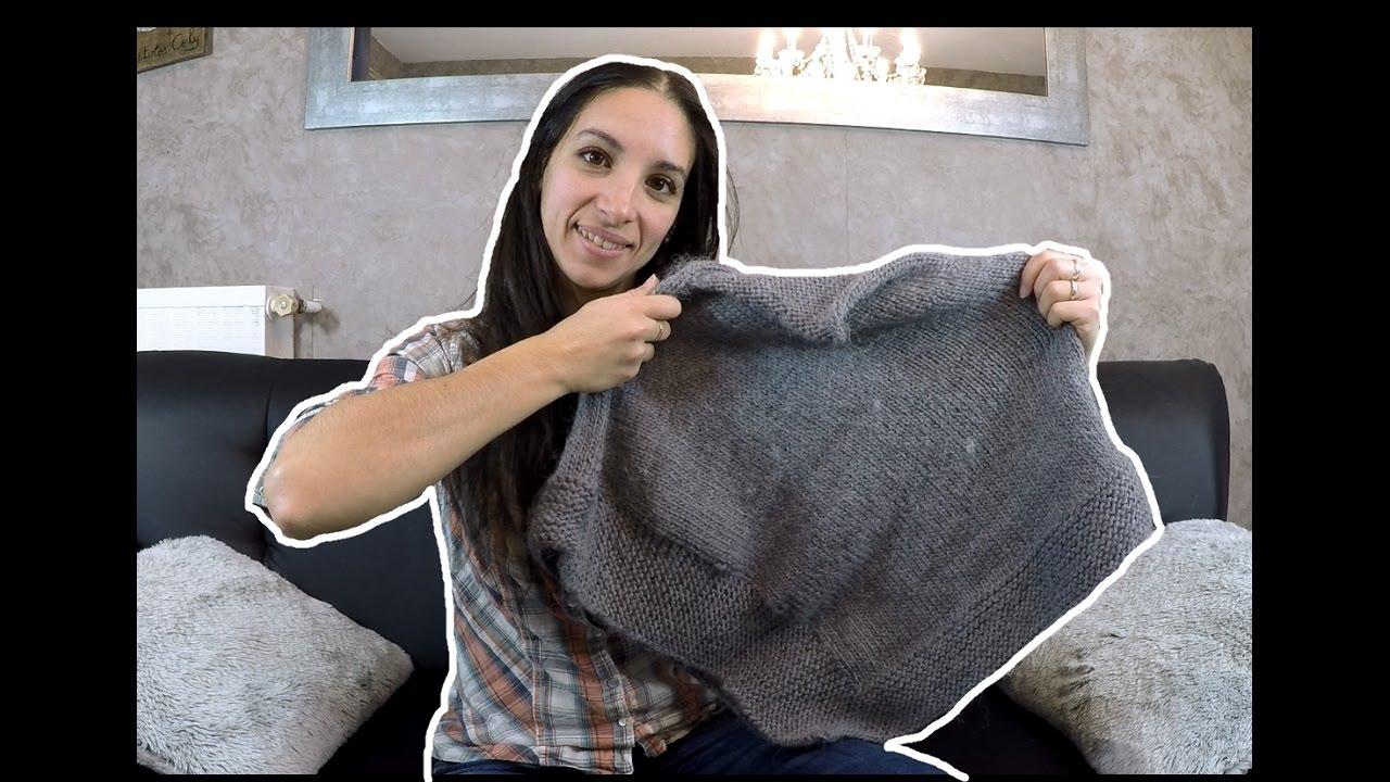 Je vous tricote un poncho enfant facile et magnifique   Knitting a ... f449a30a072b