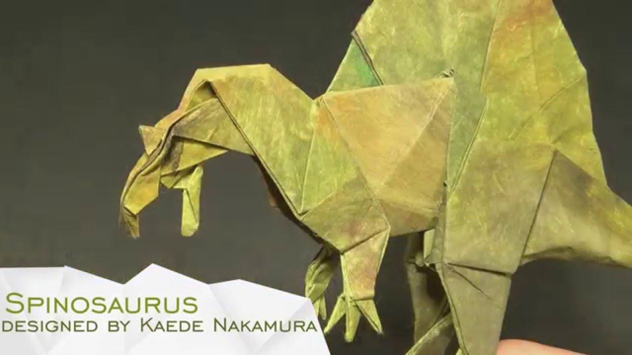 Origami Spinosaurus By Kaede Nakamura Time Lapse