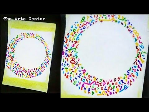 Math Border Design Border Design On Paper Math Chart Border For Project By The Arts Center Youtube