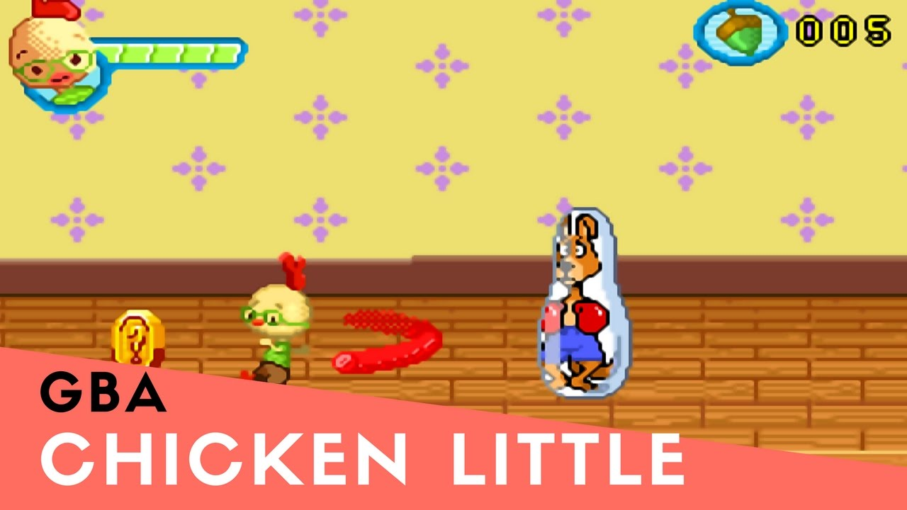 Chicken Little GBA ROM #3