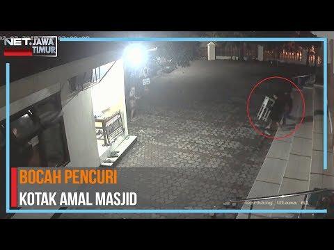 Duh.. Bocah Di Surabaya Nekat Curi Kotak Amal Masjid - NET. JATIM Mp3