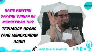 Habib Salim Al Muhdor memberikan ti...