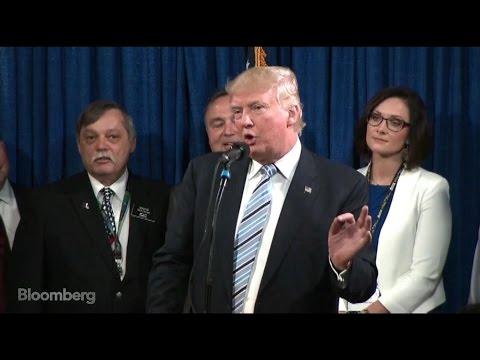 Trump Calls Warren 'Pocahontas', Says He'd Debate Her