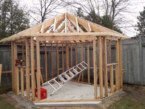 Five Sided Shed Youtube