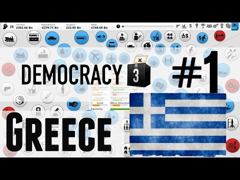 Democracy 3: Greek Debt Crisis - 1