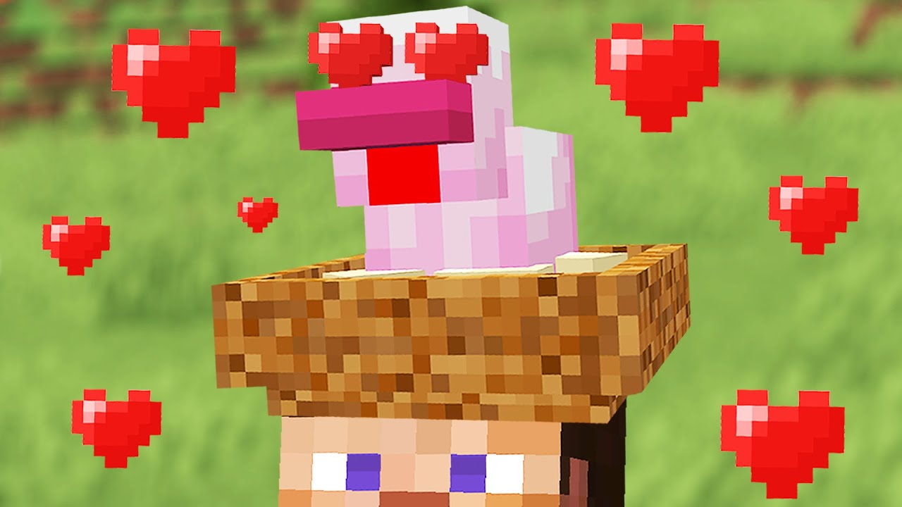 Minecraft mobs if they had attachment issues