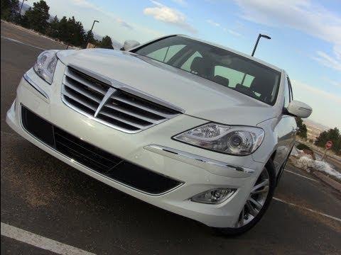 2012 Hyundai Genesis 3.8 Review Drive