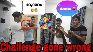 scary SPIN A WHEEL challenge ( Don't Try This😰😰) || winner will get 10,000/-
