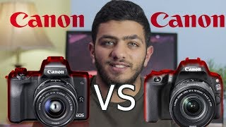 الافضل canon m50 VS canon 200D