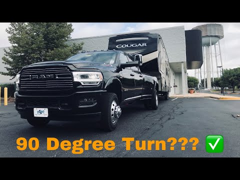 2019 RAM 3500 Laramie Sport - Long Or Short Bed Fifth Wheel Trailer Test!