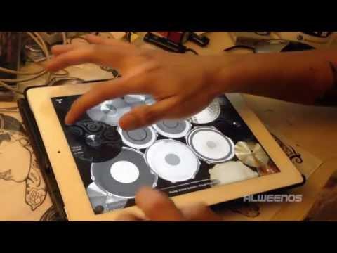 RAYUAN PULAU KELAPA - ENDANK SOEKAMTI (iPad Drum Cover by Alweenos)
