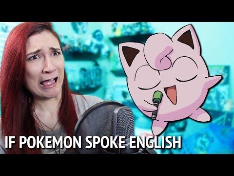 IF ALL POKÉMON SPOKE ENGLISH