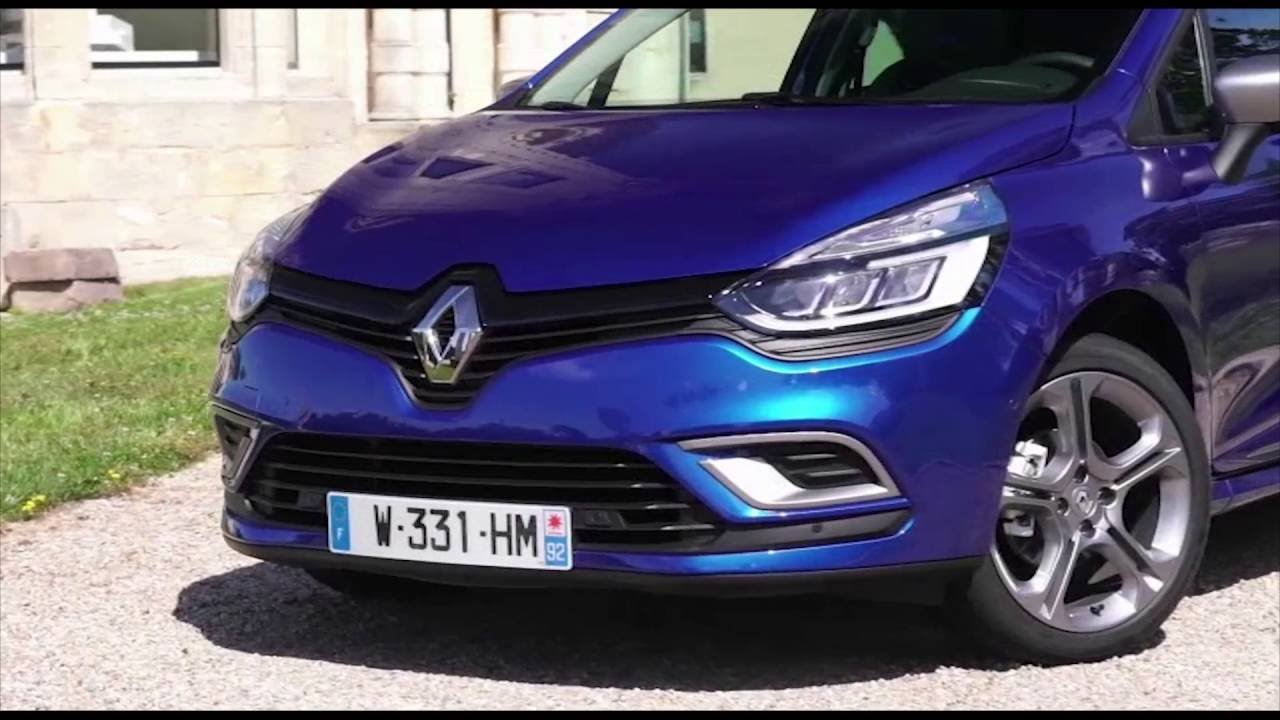 2016 new renault clio gt line exterior design trailer automototv youtube. Black Bedroom Furniture Sets. Home Design Ideas