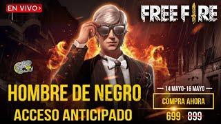 🔴 Nuevo *HOMBRE DE NEGRO* - FREE FIRE - Día de Patros!!