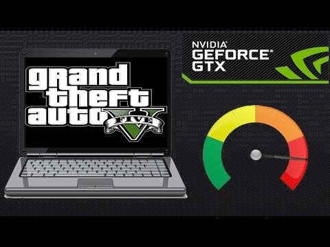 Разгон ноутбука с видеокартой nvidia gtx 850m 940m 950m тест результатов в игре GTA 5