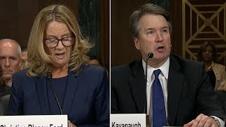 Live: Brett Kavanaugh and Christine Blasey Ford testify in Supreme Court hearing