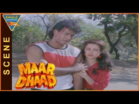 Maar Dhaad Hindi Movie || Hemant Birje Super Fight Scene || Hemant Birje, Mandakini, Huma Khan