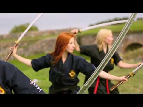 Slow Motion Sword Cutting with Music by M83 - Intro (ft. Zola Jesus)