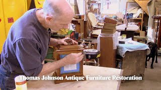 Restoring a Clock Case Finish - Thomas Johnson Antique Furniture Restoration