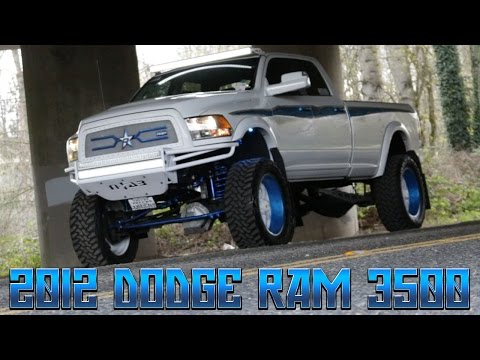 Custom Painted 2012 Dodge Ram 3500HD - Northwest Motorsport