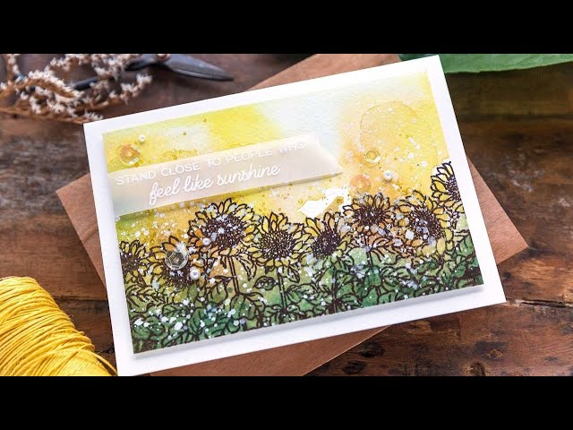 Honey Bee Stamps STAMPtember® 2021: Be A Sunflower