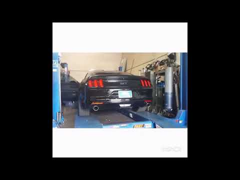 Mustang GT 3 Inch Dynomax Race Bullets And 3 Inch X-pipe