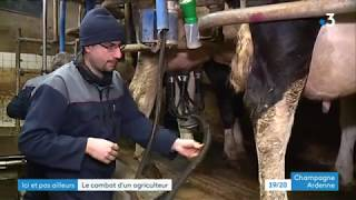 Rencontre avec Adrien Lefèvre, Éleveur laitier dans les Ardennes