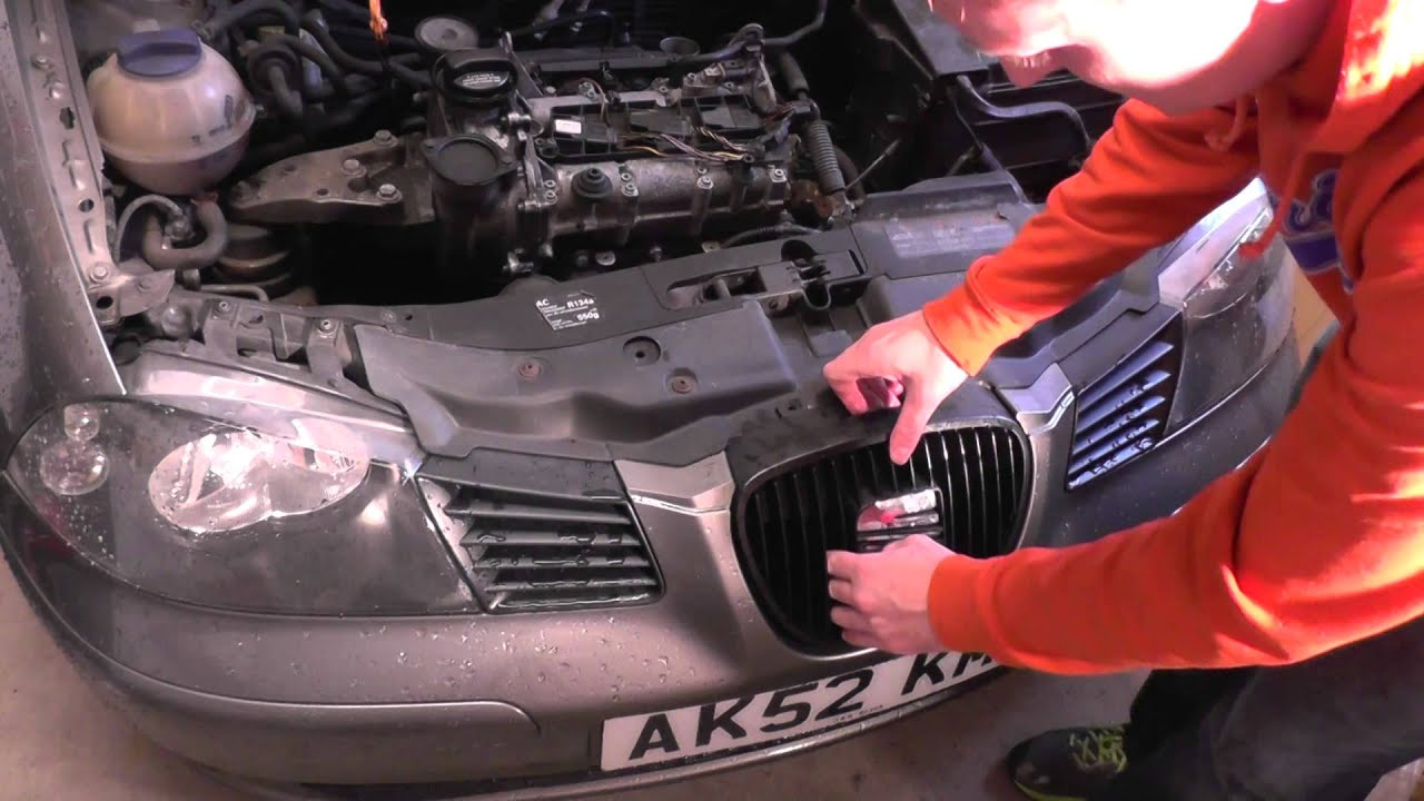 seat ibiza front grill removal guide youtube rh youtube com seat ibiza buying guide seat ibiza guide d'utilisation