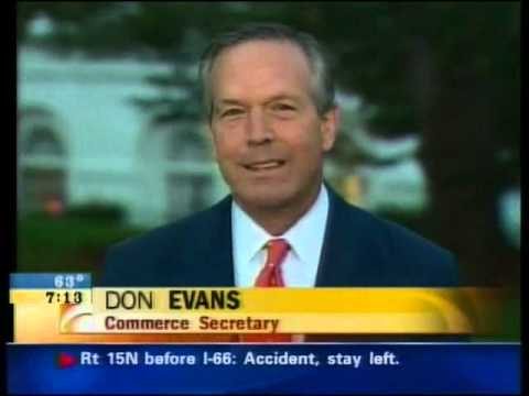 News Before 9/11 - The CBS Early Show Economic Slowdown And Headlines 7-8 AM