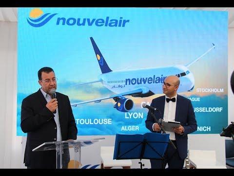Inauguration de la première agence Nouvelair à Tunis