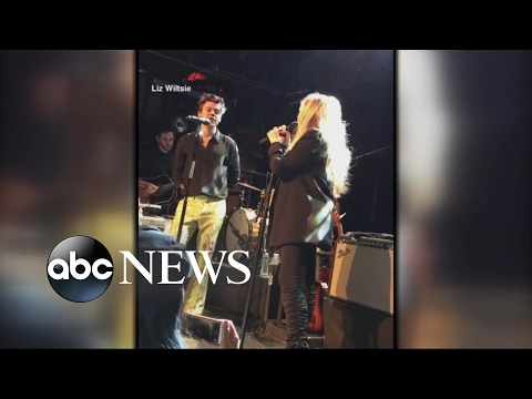 Harry Styles and Stevie Nicks duet on