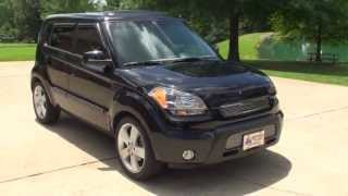 HD VIDEO 2010 KIA SOUL SPORT BLACK SUNROOF USED FOR SALE SEE WWW SUNSETMILNA COM