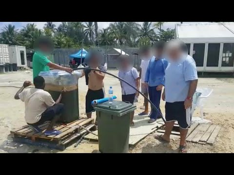 Refugees struggle with no electricity, depleting food and water on Manus Island