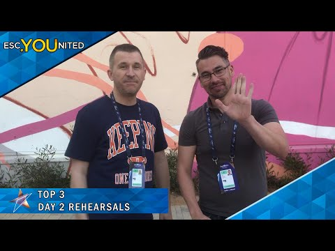 Eurovision 2019: Day 2 Rehearsals Winners - Our Top 3 (Review)