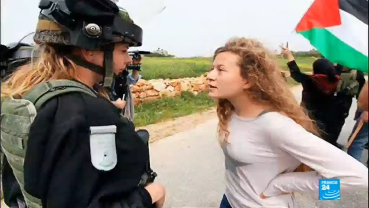 Download Who is Ahed Tamimi, the Palestinian teen charged for slapping and kicking an Israeli soldier?