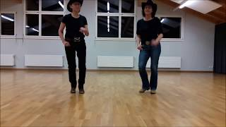 Most People Are Good - Line dance - Demo - Music by Luke Bryan